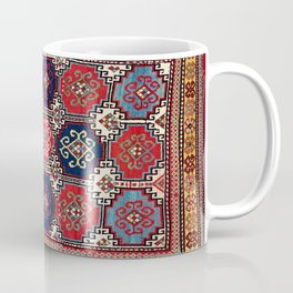 Kazak  Antique Caucasian Rug Coffee Mug