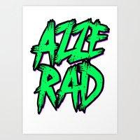 Azzerad Art Print