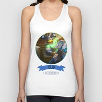 olaf Tank Tops featuring League Of Legends - Olaf by TheDrawingDuo