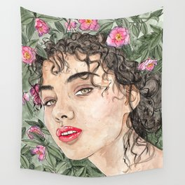 Flower Rae Wall Tapestry