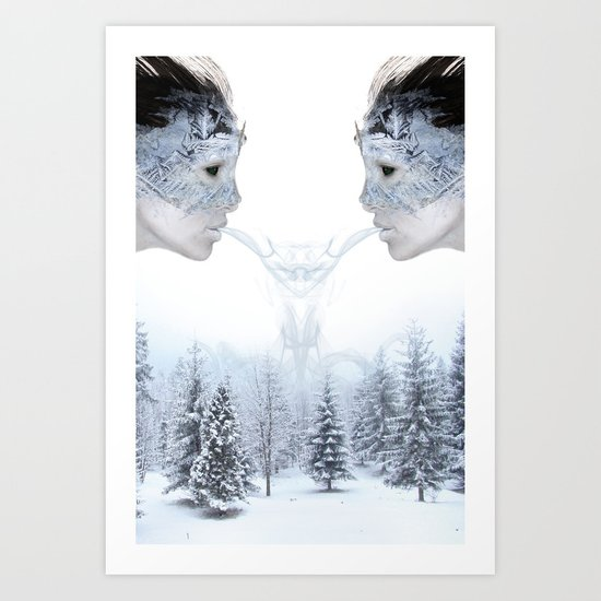 Breath of Winter Art Print