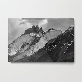 Patagonian Mountains Metal Print