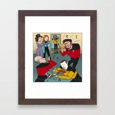 Star Trek Jam Band Framed Art Print