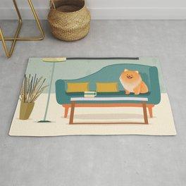 A Pomeranian Makes A House A Home Rug