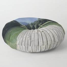 Mountain Masterpiece Floor Pillow