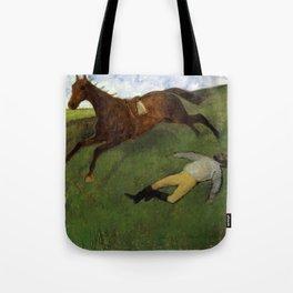 Injured Jockey Tote Bag