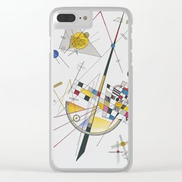 Wassily Kandinsky - Delicate Tension Clear iPhone Case
