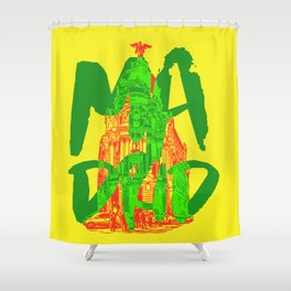 Place: Madrid Shower Curtain