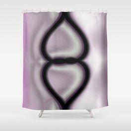 Loving Hearts Shower Curtain