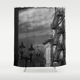 Fire Escape. Shower Curtain