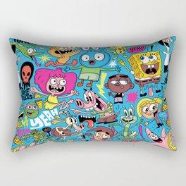 Nickpattern Rectangular Pillow