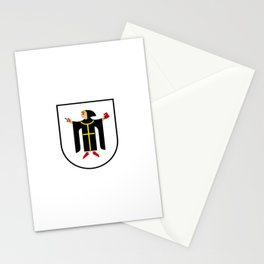 Coat of arms of Munich München Stationery Cards