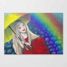 Beautiful Rainy Day Canvas Print