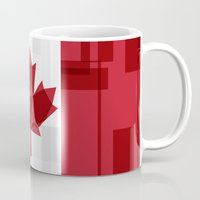 canada Mugs featuring O Canada by Fimbis