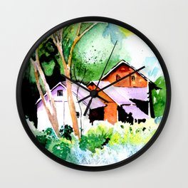A vision of Beauty. Wall Clock