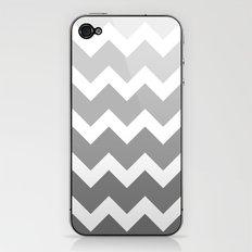 Chevron - Multi Grey iPhone & iPod Skin