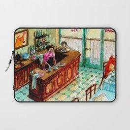 Café Fox Laptop Sleeve