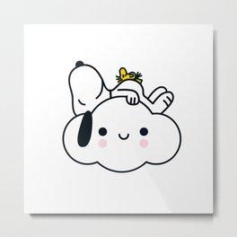 Snoopy Global Artist Collective Metal Print