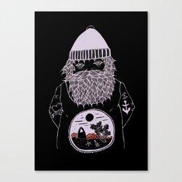 Ocean dreamer sailor Canvas Print