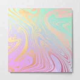 Swirled & Whirled 2 Metal Print