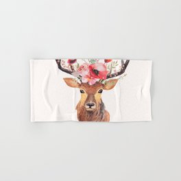 Bohemian Deer Hand & Bath Towel