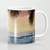 onward Mugs featuring integrations by Sharon Mau