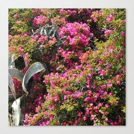 Spring Wild Flowers | Greece #society6 Canvas Print