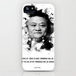 Jack ma iPhone Case