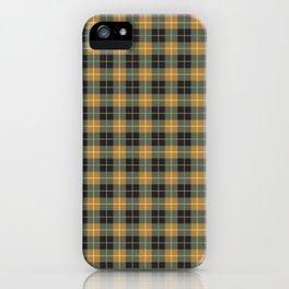 Scottish plaid 1 iPhone Case