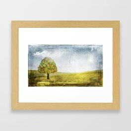 November Nostalgia Framed Art Print