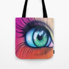 Kaleidoscopic Vision Tote Bag