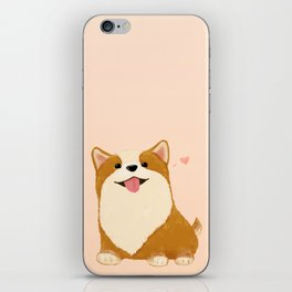 Corgi [heart!] iPhone Skin