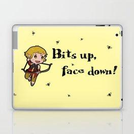 Bits up, face down! Sera Laptop & iPad Skin