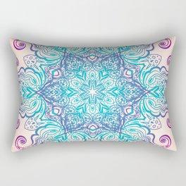 Mandala Floral Vintage Round Amulet Rectangular Pillow