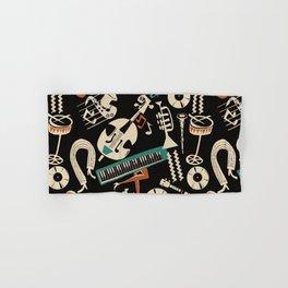 Jazz Rhythm (negative) Hand & Bath Towel