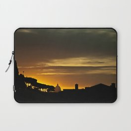 Roma, tramonto | Rome, sunset Laptop Sleeve