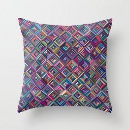 Optica Throw Pillow