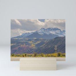 Tellrude Route 550 Uncompahgre Mini Art Print
