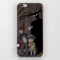over the garden wall iPhone & iPod Skins featuring Over The Garden Wall by Dimension Bound