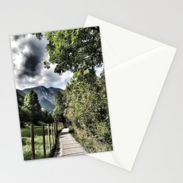 The Path to Happiness Stationery Cards
