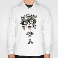 tank girl Hoodies featuring Tank Girl Missiles by TheArtofJC