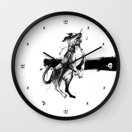 Mortecina Gozque Wall Clock