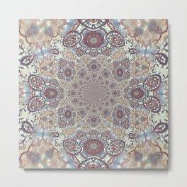 Mandala Of Mother Earth Metal Print