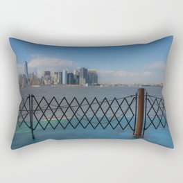 Fence Manhattan Rectangular Pillow