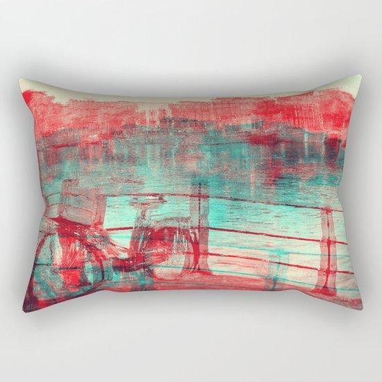 One Bicycle Rectangular Pillow