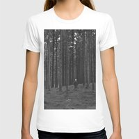 woods T-shirts featuring Woods by Bird Heart