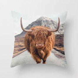 Glencoe Throw Pillow