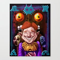 The Happy Mask Salesman Canvas Print