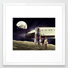 """""""Arrival"""" Framed Art Print"""