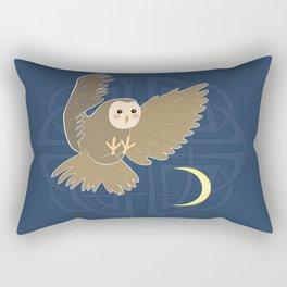 The owl moon Rectangular Pillow